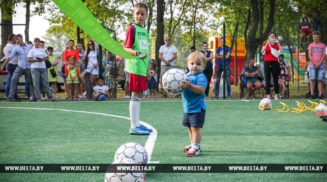 Новое мини-футбольное поле появилось в Иваново