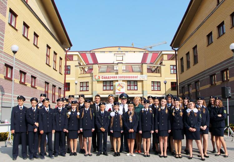 В СШ № 1 г. Бреста открыт новый таможенный класс