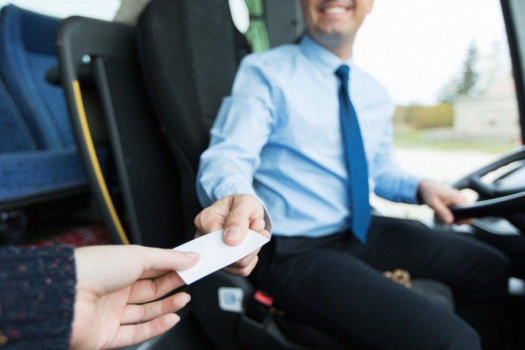 Водитель должен начинать движение только после окончания продажи билетов