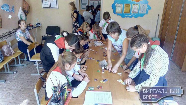 В Жабинке провели праздник «Пионерия – страна Детства!»