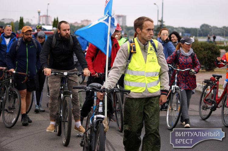 Сразу 3 мероприятия проходят в Бресте на День без автомобиля, включая велопробег