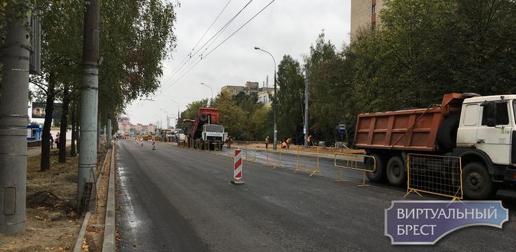 Выполнено асфальтирование Партизанского проспекта. Что надо знать водителям и пешеходам?
