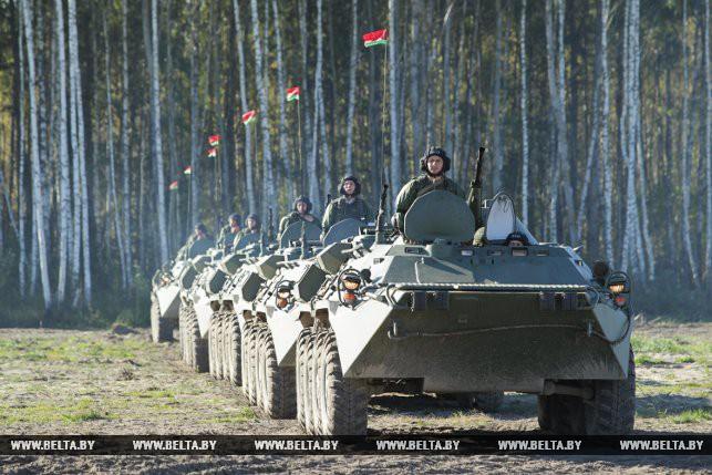 Учение белорусских и российских десантников пройдет в шести районах Брестской области