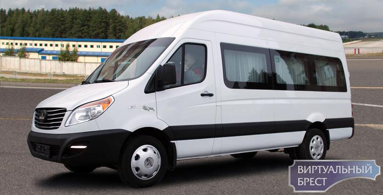 МАЗ в ноябре запустит в Бресте серийное производство микроавтобусов и фургонов