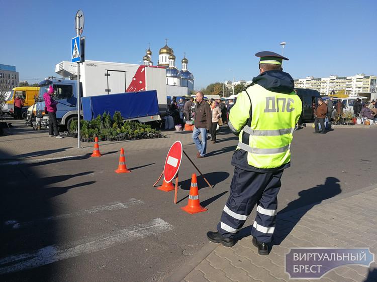 Ярмарка на проспекте Республики в Бресте проходит массово и в изобилии
