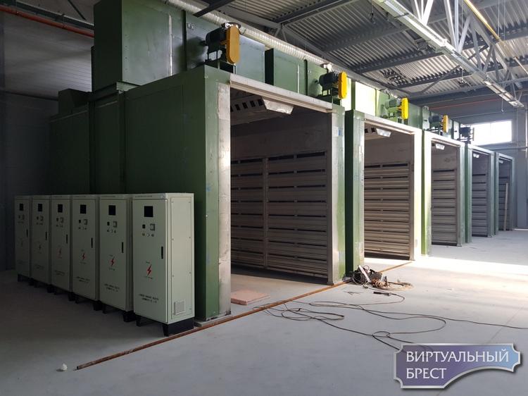 Административно-бытовой корпус завода АКБ под Брестом готовят к сдаче в эксплуатацию