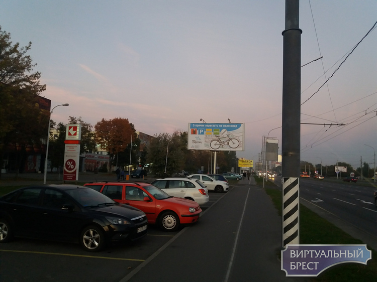 Велосипедные билборды появились в Бресте