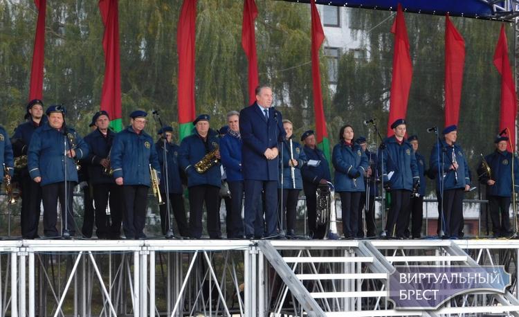 Праздник «Мой адрес – Московский район» провели в Бресте