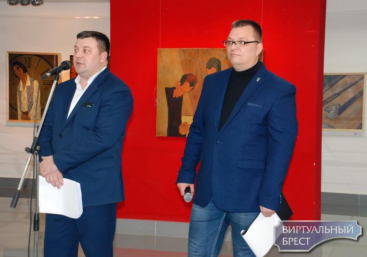 Выставка витебского художника Олега Прусова «Месяц Ай» открылась в Бресте 2 ноября