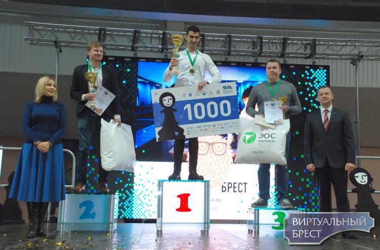 Награждены победители второго международного турнира «Черная пешка» и Первого кубка Карпова
