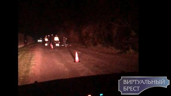 В д.Братылово Брестского района насмерть сбили пешехода, водитель скрылся