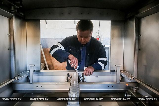 Во время изготовления оборудования пищевой промышленности в производственных помещениях ООО