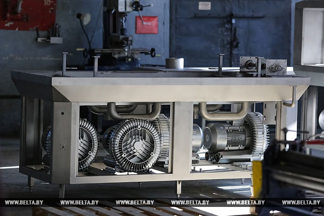 Готовое оборудование для пищевой промышленности, изготовленное в ООО