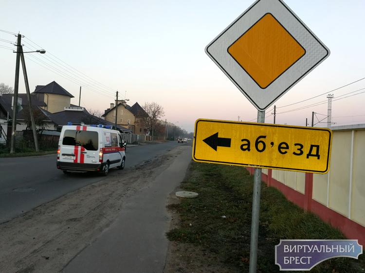 Закрыт переезд на ул. Скрипникова в Бресте - до 11 ноября