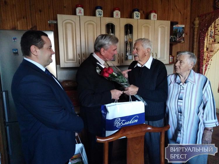 95-летний юбилей в жизни ветерана Великой  Отечественной войны  Дмитрия Ивановича Маматюка