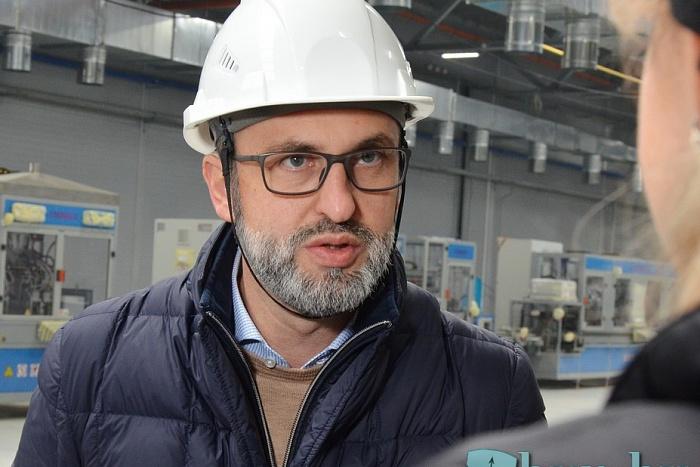 Итальянское оборудование прибыло на завод АКБ под Брестом