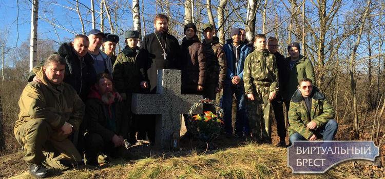 Мероприятие по уборке территории и могилки рядового Телепнева