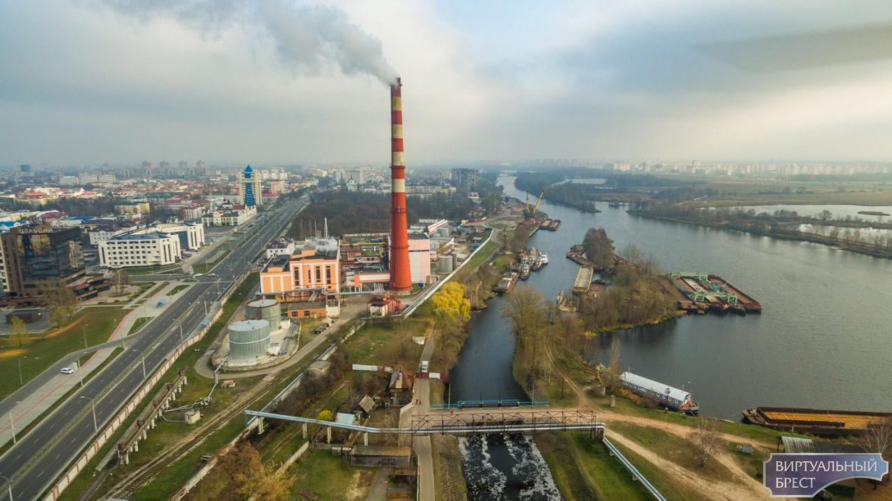 Брестчан предупреждают, что из трубы ТЭЦ будет идти чёрный дым