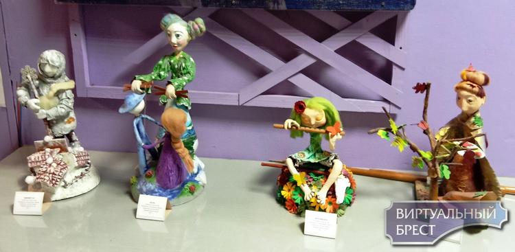 «Драконы, ангелы, люди и прочие» Необычная выставка работает в Бресте