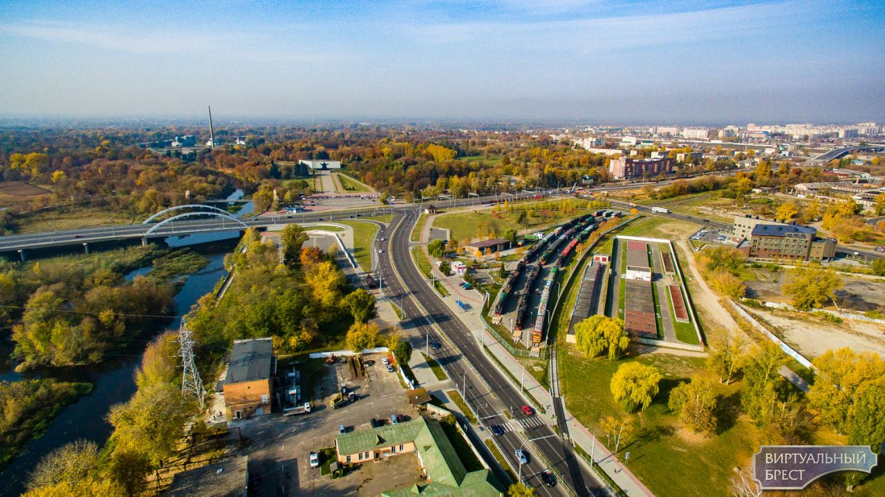 Смотрите, как выглядит музей железнодорожной техники с высоты