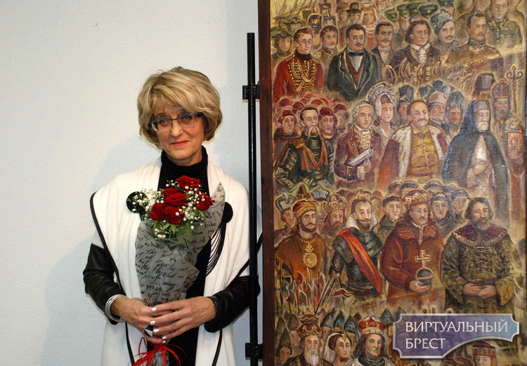 Художница Анастасия Фетисова посвятила 1000-летию Бреста персональную выставку