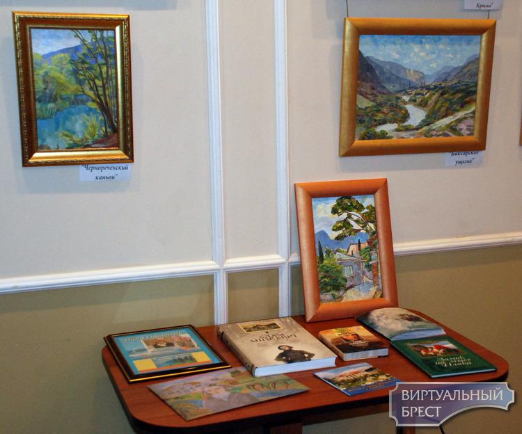 Персональная выставка Нилы Горчанюк «Крымские сонеты» открылась в Бресте 10 декабря