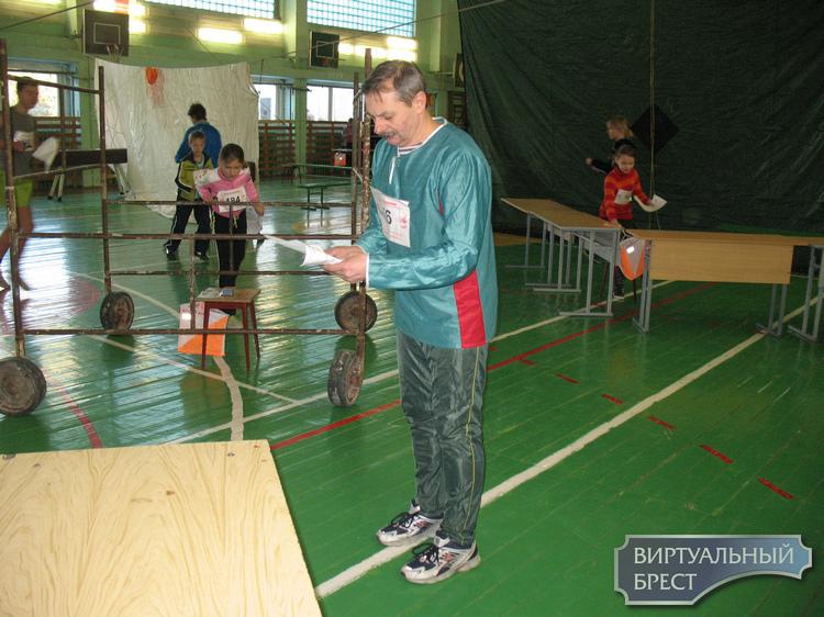 Первенство Брестской области  по спортивному ориентированию в зале