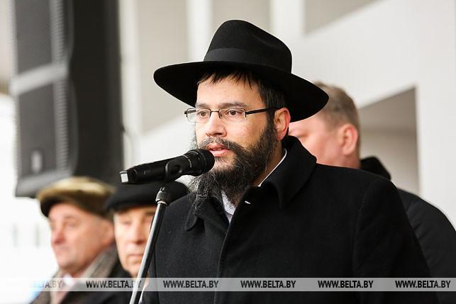 Раввин Брестской иудейской общины Хаим Рабинович