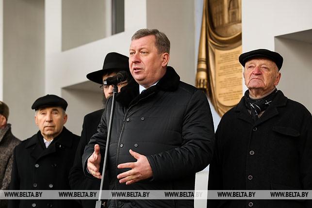 Председатель Брестского горисполкома Александр Рогачук