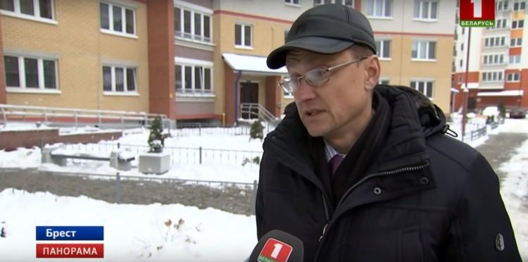 Жители новостройки в Бресте обеспокоены состоянием их дома