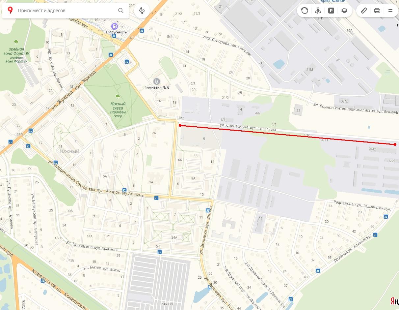 """В интернете переживают, что ул. Свинарчука в Бресте переименуют. С какой стати """"паника""""?"""