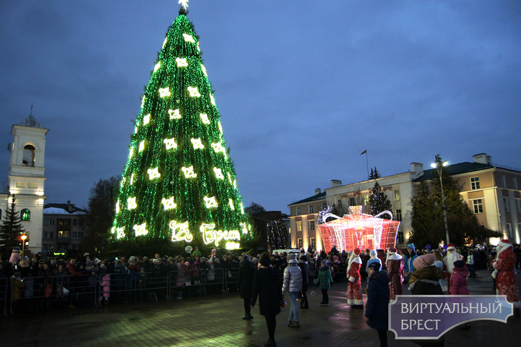 6 декабря будут включены предновогодняя иллюминация и подсветка зданий