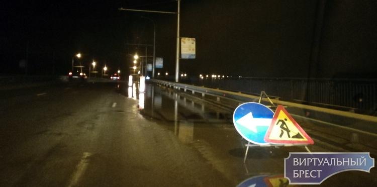 """На Гузнянском мосту в Бресте водителей поджидают """"нежданчики"""""""