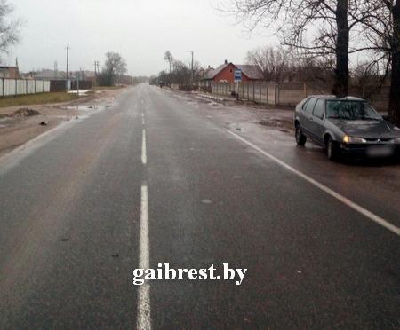 КОБРИН: наезд на обозначенного световозвращающим элементом пешехода