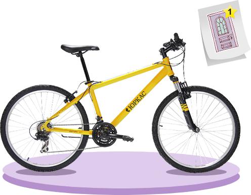 Юркас предлагает участвовать в конкурсе и выиграть входную дверь и велосипед