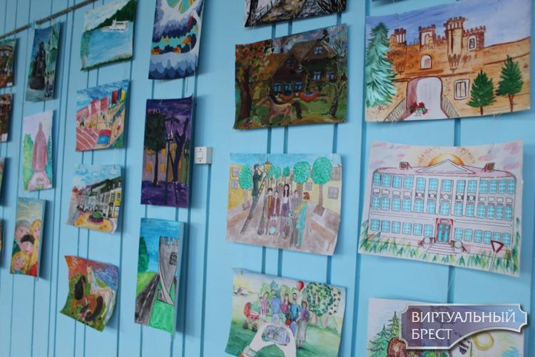 Свет фарбаў  дзіцячых - да тысячагоддзя  горада Брэста