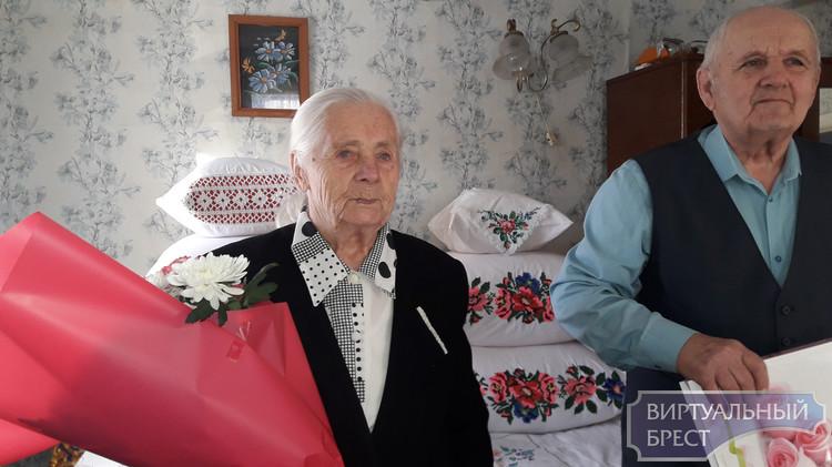 Бриллиантовую свадьбу отмечает пара из д.Филиповичи