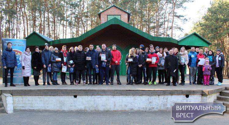 Соревнования по спортивному ориентированию провели в парке воинов-интернационалистов Бреста