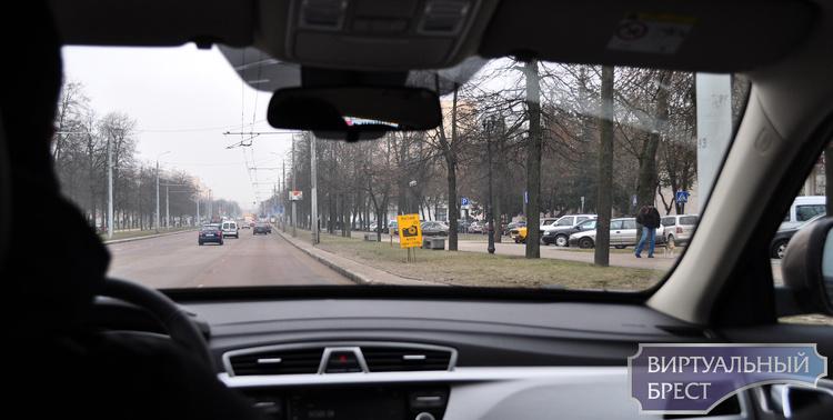 Планируемые места установки мобильных датчиков контроля скорости на 16 марта