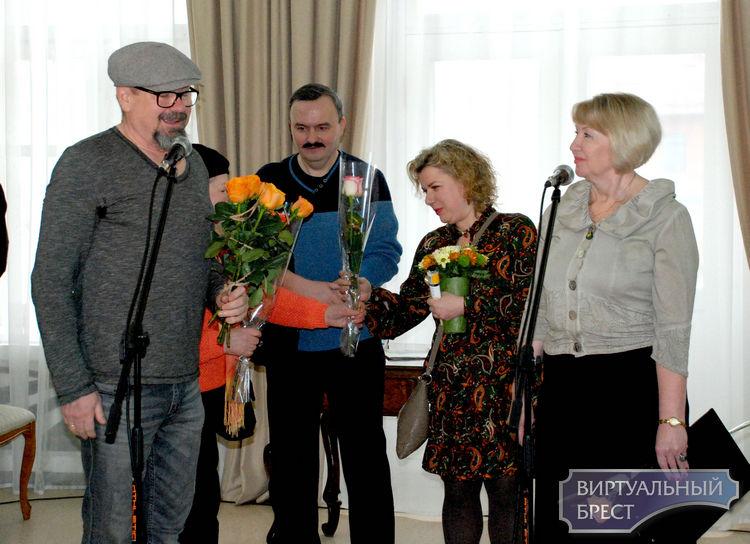 Игорь Романчук и Татьяна Потворова представили выставку «Город моей любви» о Бресте