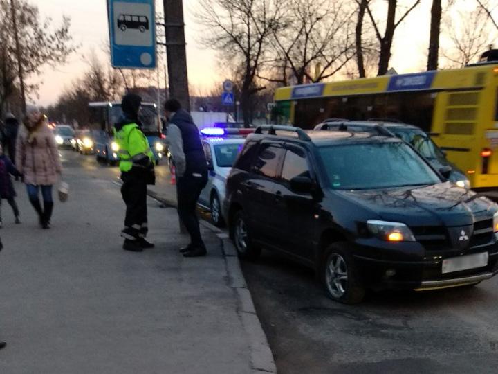 На пешеходном переходе по ул.Красногвардейской пострадала женщина пешеход