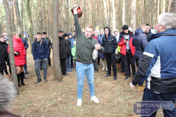 Гулянье «Масленица» в парке воинов-интернационалистов Бреста