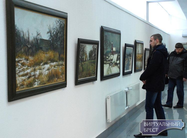 Открылась выставка Кастуся Качана «Очарованный Родиной»