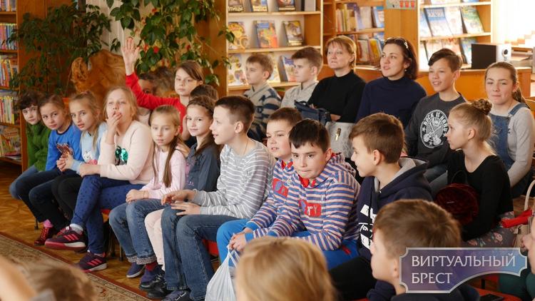 Ганна Янкута і Кот Шпрот у Брэсце!