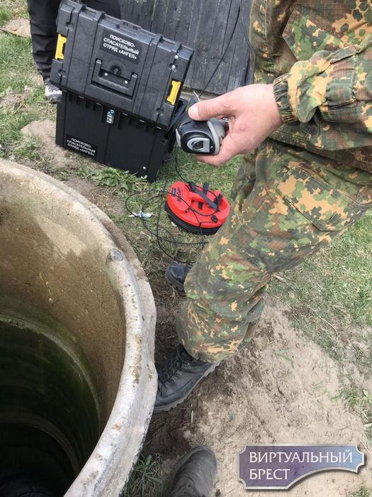 В Любашках повторно обследуют колодцы - на этот раз используется специальная камера