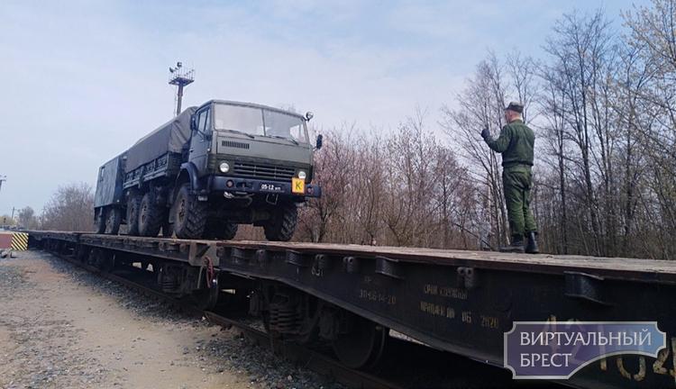 Войсковая часть 97061 вернулась домой после проведения полевого выхода на «Обуз-Лесновском» полигоне
