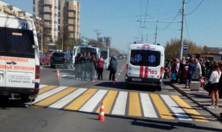 По версии ГАИ, у автомобиля, сбившего девушек на Московской, отказали тормоза