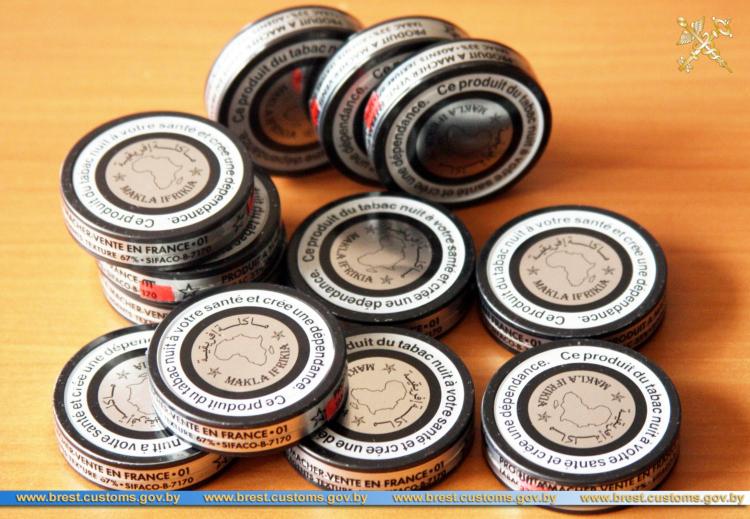 Таможня - о запрете ввоза некурительных табачных изделий