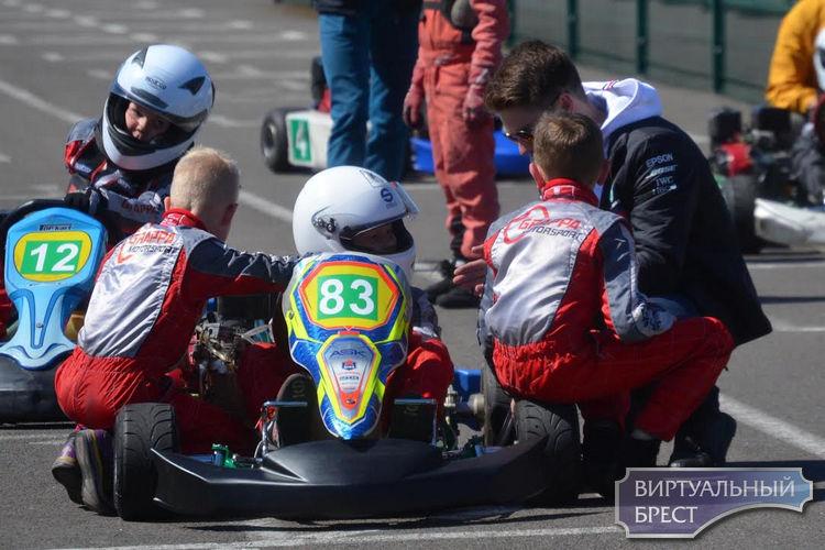 Соревнования по картингу «ТехноСпорт» прошли в Бресте