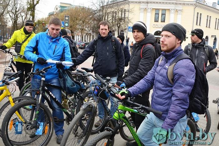 Как в Бресте поддерживают акцию «30 дней на велосипеде»